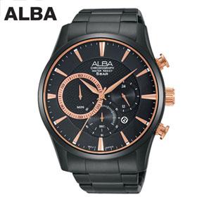[세이코알바] ALBA 알바 크로노그래프 AT3783X1