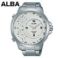 [세이코알바] ALBA 알바 트리플타임 AX8003X1