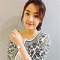 [연예인시계]배우 정유미시계 오바쿠 V133SCISC
