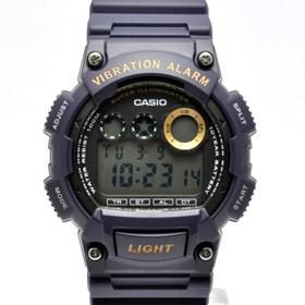 카시오시계 CASIO 진동알람시계 W-735H-2A