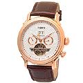 한국본사정품 티센토 시계 TS50011RGW-DATE / TI SENTO 손목 시계 명품 가죽 남성 학생 선물 TURAN    / TS50011RGW-DATE