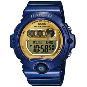 Baby-G 베이비지 블루×골드 BG-6900-2DR