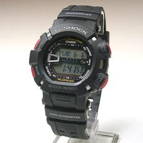 지샥시계 G-SHOCK 머드맨 G-9000-1VDR
